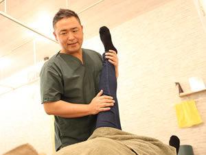 杉並区阿佐ヶ谷の整骨院てあて家の膝痛治療